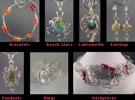 Jewelry Making with Beads, Jewelry Tools, & Wire, using Beads and